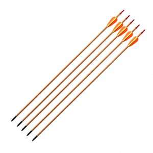 "Enfield Sports Limited - A1- 30"" Wooden Target Arrows - Pack of 5"