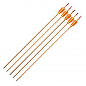 "Enfield Sports Limited - 28"" Wooden Target Arrows - Pack of 5"
