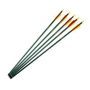 "Enfield Sports Limited - 30"" Heavy Duty Aluminium Arrows - Green - Pack of 5"
