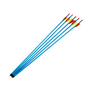 "Enfield Sports Limited - 30"" Pointed Aluminium Arrows - Blue - Pack of 5"