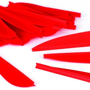 "Enfield Sports Limited - Flight Vanes - 2.5"" - Red - Pack of 24"