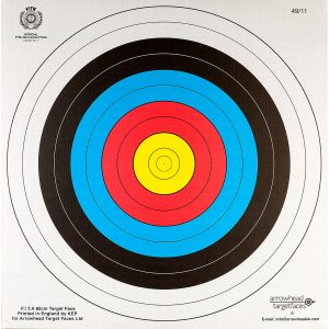 Enfield Sports Limited - Archery Target Face - 60x60cm