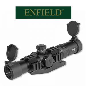Enfield 1.5-4x30 Illuminated Mil Dot Rifle Scope