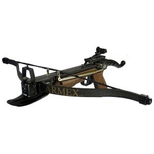 Enfield Sports Limited - Tomcat 80lbs Self-Cocking Pistol Crossbow - Black