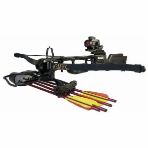 Enfield Sports Limited - Jaguar 175lbs Recurve Crossbow Kit - Black