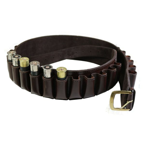 Enfield Sports Limited - Buckingham Collection 12 Gauge Leather Cartridge Belt - Large