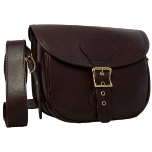 Enfield Sports Limited - Buckingham Collection Brown Leather Cartridge Bag