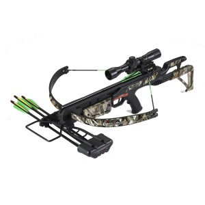 Scorpion 175lbs Recurve Crossbow Kit - Black/Camo