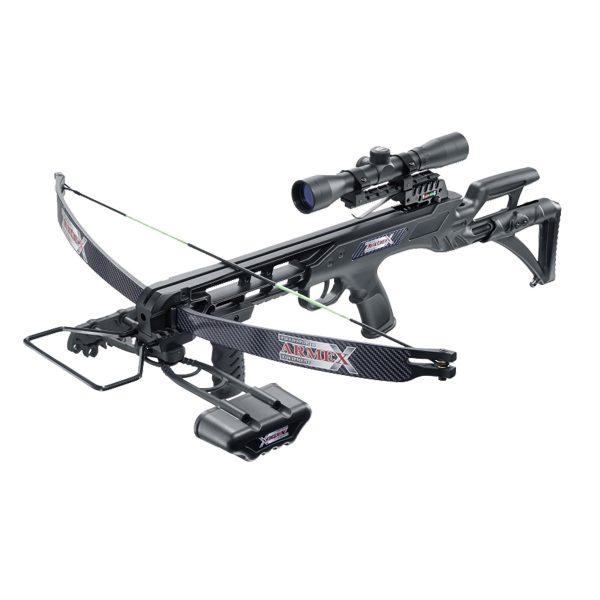 Scorpion 175lbs Recurve Crossbow Kit - Black