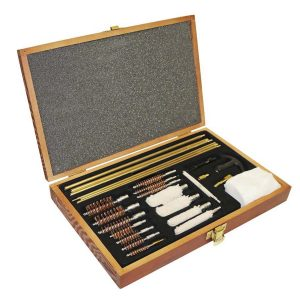 Enfield Sports Limited - Cleaning Kit - Multi Calibre in Wooden Case