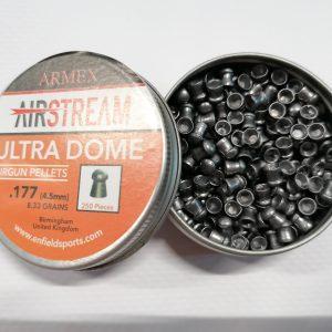 armex_airstream_ultra_dome_lead_airgun_pellets_177