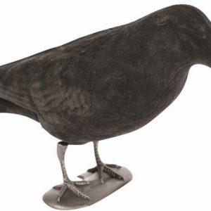 Jack Pyke Flocked Full Bodied Crow Decoy