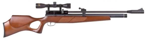 BEEMAN COMMANDER 1517 Wood stock thumbhole pcp air rifle