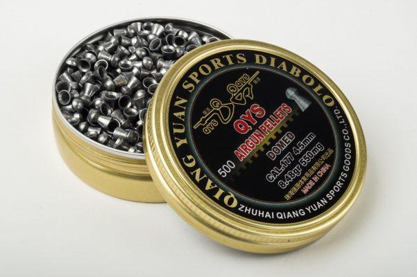 Qiang Yuan Sports Goods QYS FT Domed Airgun pellets .177 (4.50)